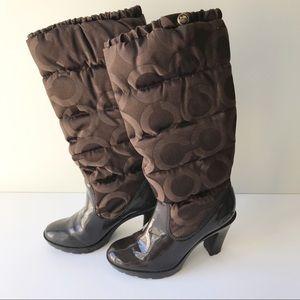 Coach women's boot size 6.5